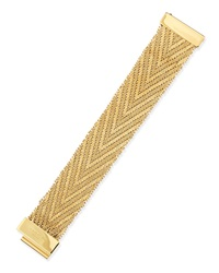 Golden Flat Chain Bracelet Givenchy
