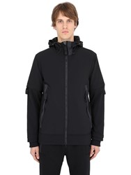 Adidas Originals Day One Hooded Zipped Nylon Softshell Jacket