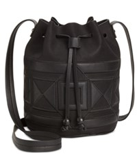 Inc International Concepts Four Corners Bucket Bag Only At Macy's Black