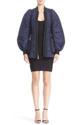 Herve Leger Women's Grommet And Lacing Detail Jacket