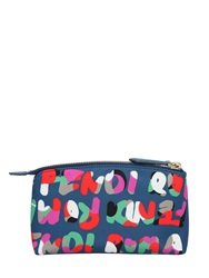 Fendi Roma Printed Nylon Make Up Bag Multi