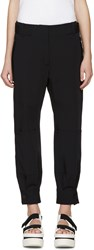 Stella Mccartney Navy Wool Monza Cargo Pants