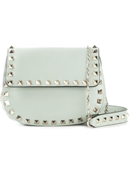 Valentino Garavani 'Rockstud' Shoulder Bag Green