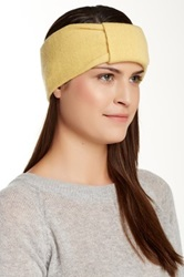 Portolano Knotted Cashmere Headband Yellow