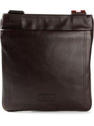 Bally Medium 'Piattona' Messenger Brown