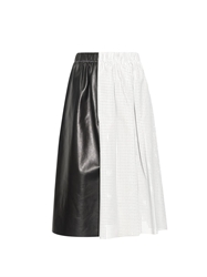 Proenza Schouler Punched Leather Midi Skirt