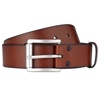 John Lewis Leather Belt Brown