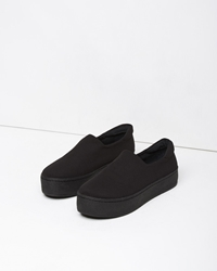 Opening Ceremony Slip On Platform Sneaker All Black