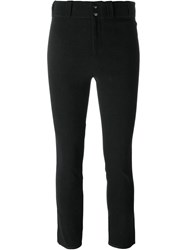 Isabel Marant Cropped Trousers Black
