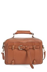 Etienne Aigner 'Filly Stag' Satchel Brown Cognac