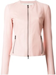 Drome Zipped Jacket Pink And Purple