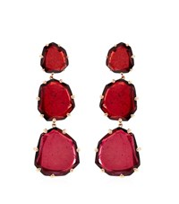 Annoushka Shard Triple Drop Earrings Female