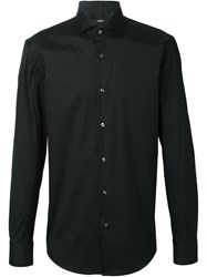 Boss Hugo Boss Classic Long Sleeved Shirt Black