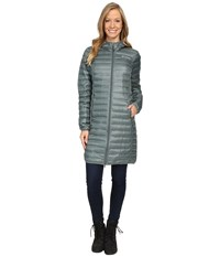Columbia Flash Forward Long Down Jacket Pond Spray Women's Coat Blue