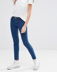 Pull And Bear Pullandbear Skinny Jegging Tint Blue