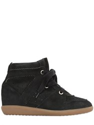 Isabel Marant Etoile 80Mm Bobby Suede Wedge Sneakers