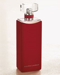 Ralph Lauren Rl Collection Red Leather Case For 100 Ml C00