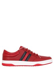 Gucci Ronnie Hammered Leather Sneakers