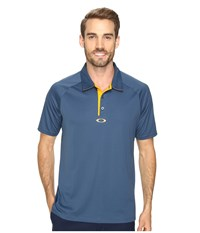 Oakley Elemental 2.0 Polo Blue Shade Men's Short Sleeve Pullover