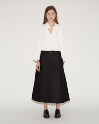 Sofie D'hoore Storm Satin Skirt Black