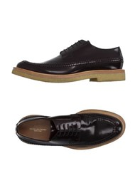 Dries Van Noten Footwear Lace Up Shoes Men Cocoa