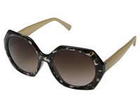 Von Zipper Buelah Black Tort Cloud Brown Gradient Sport Sunglasses