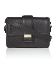 Ollie And Nic Rita Black Medium Crossbody Bag Black