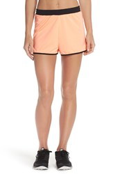 Minkpink 'Move Jogger' Running Shorts Neon Coral