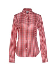 Aspesi Shirts Shirts Women Red