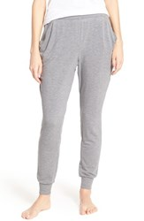 Midnight By Carole Hochman Women's Terry Lounge Pants Heather
