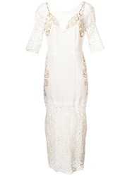For Love And Lemons Lace Dress White