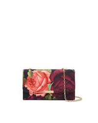 Ted Baker Wynnie Juxtapose Rose Evening Bag Purple