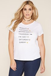 Forever 21 Plus Size Week Graphic Tee