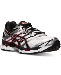 Asics Men's Gel Cumulus 16 4E Wide Running Sneakers From Finish Line White Black Red
