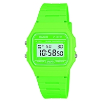Casio F 91Wc 3Aef Jlp S Unisex Core Retro Casual Watch Green