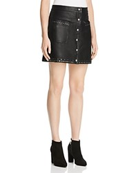 Rebecca Minkoff Leather Rockin' Skirt 100 Bloomingdale's Exclusive Black