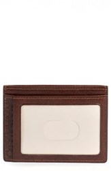 Men's Boconi 'Becker' Leather Card Case