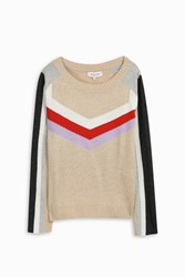 Paul And Joe Chevron Knit Jumper Multi