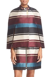 Ted Baker Women's London 'Zuavi' Stripe Jacquard Cape