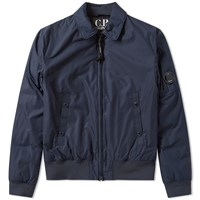 C.P. Company Arm Lens Flight Jacket Blue