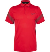 Nike Mm Fly Framing Commander Dri Fit Polo Shirt Red