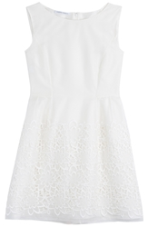 Alberta Ferretti Silk Cotton Dress