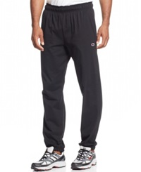 Champion Jersey Pants With Banded Bottom Black