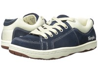 Simple Os91 1 Navy Blue Suede Men's Shoes