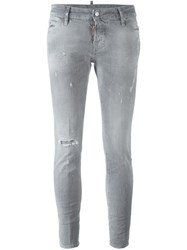 Dsquared2 'Cigarette' Jeans Grey