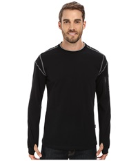 Kuhl Kommando Crew Raven Men's Long Sleeve Pullover Black