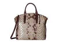 Brahmin Large Duxbury Stone Handbags White