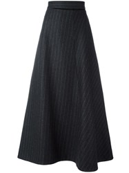 Each X Other Striped Skirt Grey