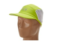 Mountain Hardwear Quasar Running Cap Acid Green Baseball Caps