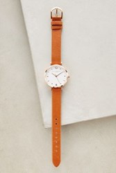 Anthropologie Numeral Watch Gold
